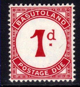 Basutoland 1933 - 52 KGV1 1d Postage Due Umm SG D1b ( G675  )