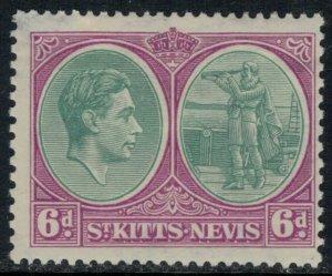 St. Kitts-Nevis #85a*  CV $6.50  (corner thin)