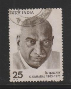 India 1976  # 723   k. Kamaraj  Used  11753  D