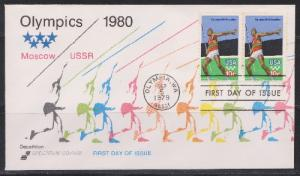 1790 Olympic Games Unaddressed Spectrum FDC