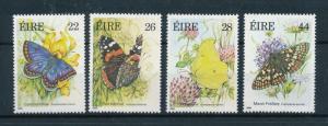 [98633] Ireland 1985 Insects Butterflies Schmetterlingen  MNH