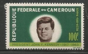 CAMEROUN  C52  MNH, PRES. JOHN F. KENNDY