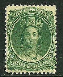 Nova Scotia # 11, Mint Hinge. CV $ 15.00