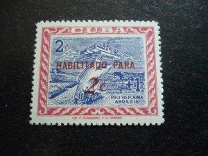 Stamps - Cuba - Scott#624 - MNH Overprinted 1 Stamp