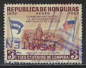 Honduras CO100 VFU E811-2