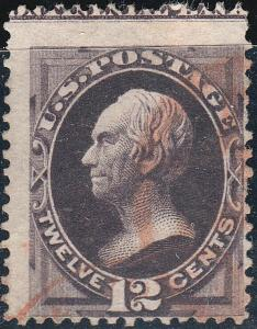 U.S. 162 Used F++ Imprint Capture Copy  (53019)