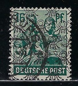 Germany AM Post Scott # 623, used