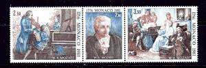Monaco 1277a MNH 1981 Mozart