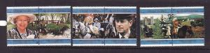 BIOT-Sc#189-94-unused NH set-QEII-50th Wedding annoiversary-1996-please note the