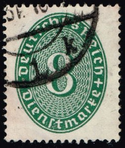 Germany #O67 Official - Numeral; Used (2Stars)