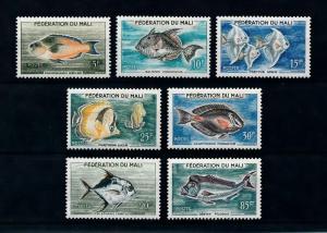 [99732] Mali 1960 Marine Life Fish  MNH