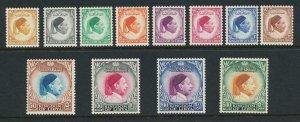 LIBYA 1952 SET, VF NEVER HINGED Sc#135-46 (SEE BELOW)
