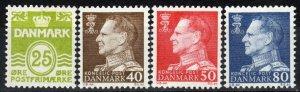 Denmark #416-9 MNH CV $2.50  (X6994)