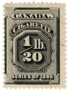 (I.B) Canada Revenue : Cigarette Duty (1/20th)