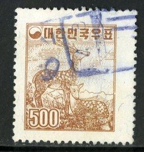 KOREA 281 USED SCV $6.00 BIN $2.40 MAMMALS