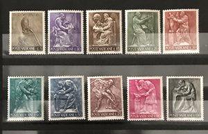 Vatican City 1966, #423-32, MNH, CV $3