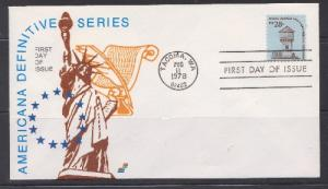 1604 Ft Nisqually Unaddressed Spectrum FDC