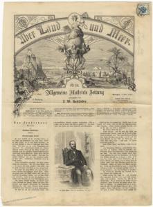 Ueber Land und Meer Austria 1862 With Newspaper Stamp 49373