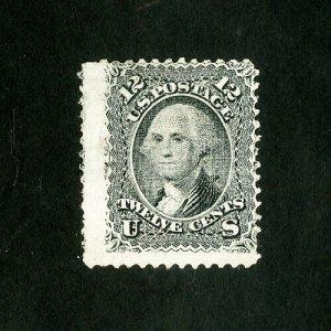 US Stamps # 90 AVG Dist OG H Scott Value $4,750.00