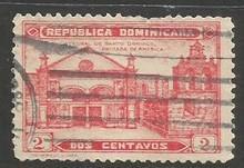 Dominican Republic 261 VFU X836-4