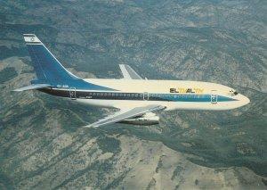 8026 Aviation Postcard   EL AL ISRAEL BOEING 737-258  Airlines