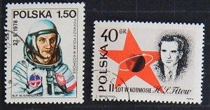 Poland, Space, 1978, (№ 1514-Т)
