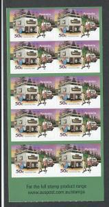 Australia booklet   MNH  sc#  2756a