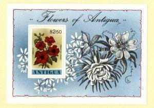 Antigua MNH S/S 523 Flowers 1978