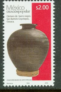 MEXICO 2491k, $2.00Pesos HANDCRAFTS 2016 ISSUE. MINT, NH. F-VF.