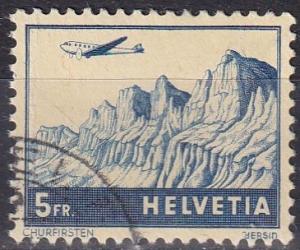 Switzerland #C34  F-VF Used  CV $15.00 Z771