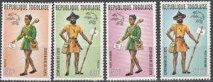 Togo #873-4, C222-3  MNH VF CV $2.90  (SU1939)