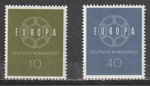 #790-1 Germany Mint OGNH 1959 Europa