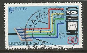 GERMANY 1553 VFU EUROPA T372-6