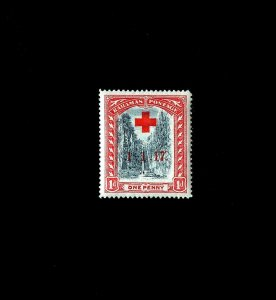 BAHAMAS - 1917 - RED CROSS - QUEEN'S STAIRCASE - NASSAU - MINT MNH SINGLE!