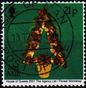Isle of Man. 2001 21p S.G.965 Fine Used