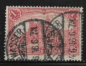Germany Mi. #94 A I / Sc. #92  used L88