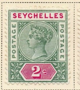 Seychelles 1890 Early Issue Fine Mint Hinged 2c. 326855