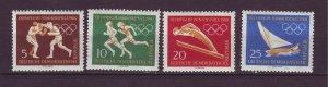 J24167 JLstamps 1960 germany DDR set mnh #488-91 sports