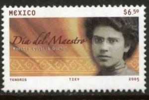 MEXICO 2442, Teacher's Day. MINT, NH. F-VF.