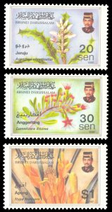Brunei 1997 Scott #516-518 Mint Never Hinged