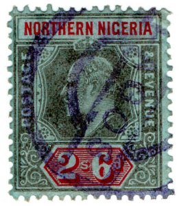 (I.B) Northern Nigeria Revenue : Duty Stamp 2/6d