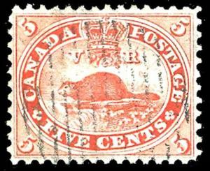 CANADA-f-a-1851-1899 ISSUES (TO 88c) 15  Used (ID # 85078)