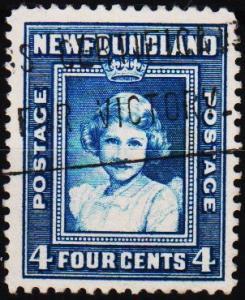 Newfoundland. 1938 4c  S.G.279 Fine Used