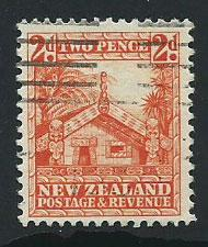 New Zealand SG 580 FU  well centered