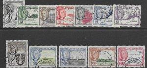 Virgin Islands 102-13    1932    set  12  FVF Used