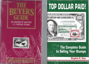 Set of Four(4) Books by Stephen R. Datz on Philatelic Material and Events