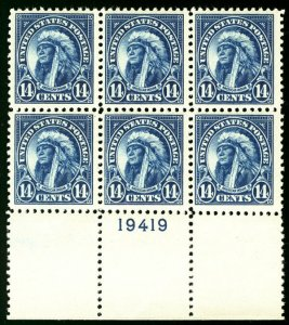 MALACK 565 VF/XF OG NH, LARGE BOTTOM PLATE, super ce..MORE.. pb2289