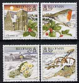 Isle of Man 1995 Christmas set of 4 unmounted mint, SG 66...