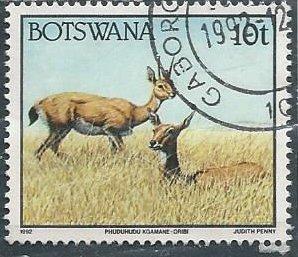 Botswana 522 (used) 10t oribi (1992)