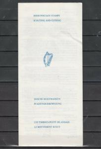 Ireland, Scott cat. 416-417. Scouting Postal Bulletin.